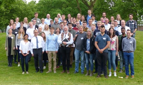 Group Photo of participants of the Bioimaging workshop