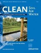 Clean soil air water evisa 39 s journals database for Soil research impact factor